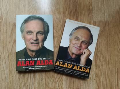 Bewijs van fangirlschap #2: ik heb zijn boeken.