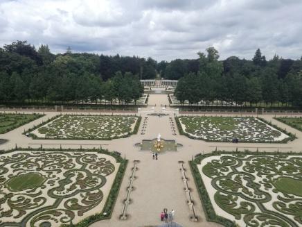 Deel van de Franse tuinen