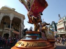 Wagen van Mickey en Minnie