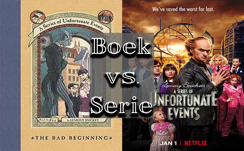 Boek vs. Serie: a Series of UnfortunateEvents
