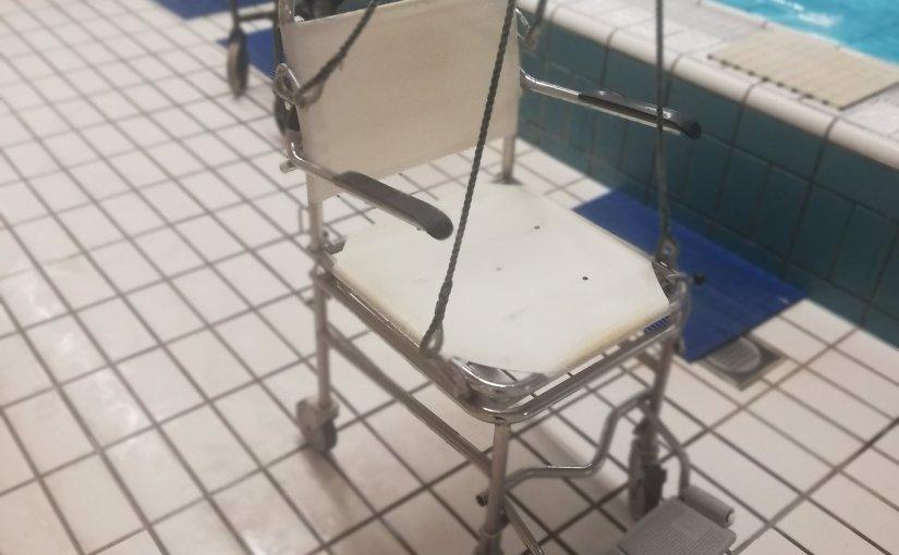 Koppie boven water bij ZwemclubGehandicapten