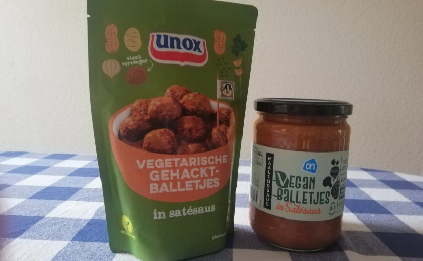 REVIEW: vega satéballetjes Unox vs. Albert Heijn