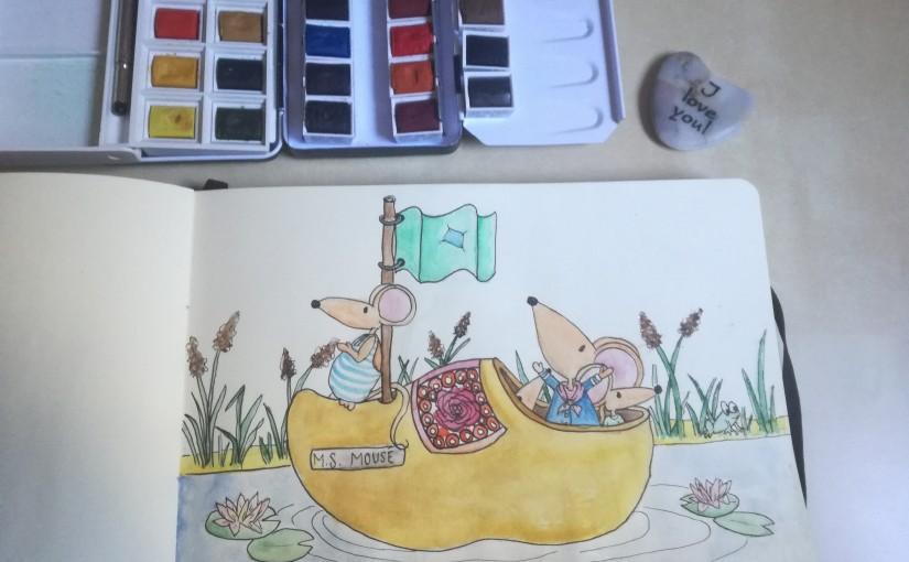 Het schetsboek vanLeonie