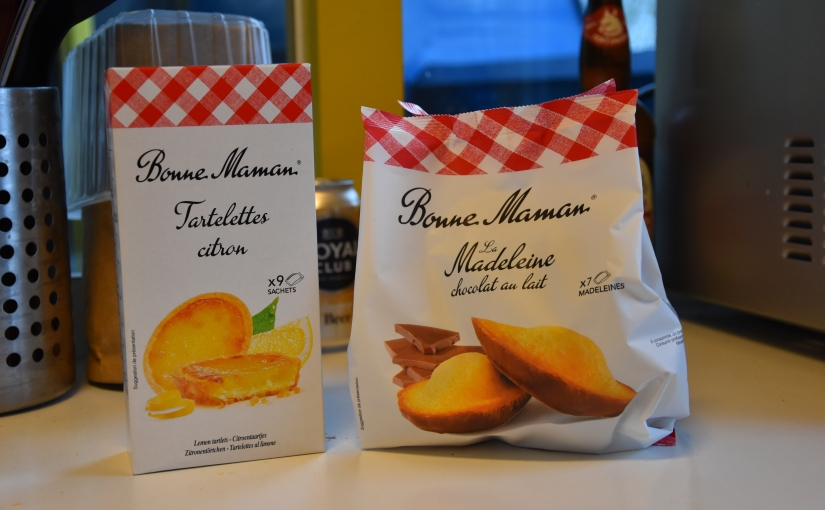 Review: Lemon tarts en Madeleines van BonneMaman