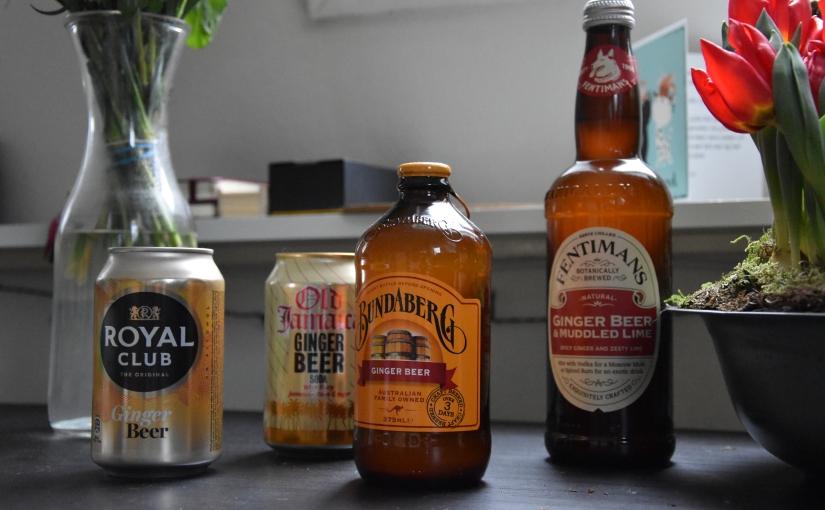 Review: 4x Ginger Beer