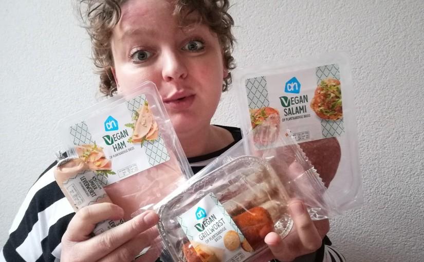 Review: AH vegan vleeswaren voor opbrood